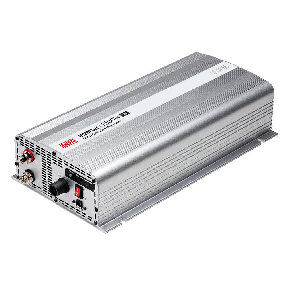 Inverter 1500W/24V, vit bakgrund