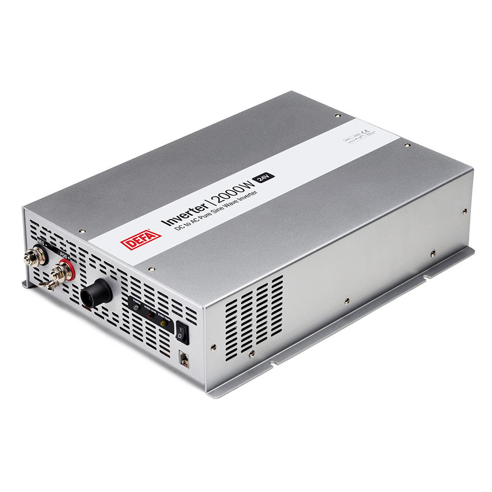 DEFA Inverter 2000W 24V, white background