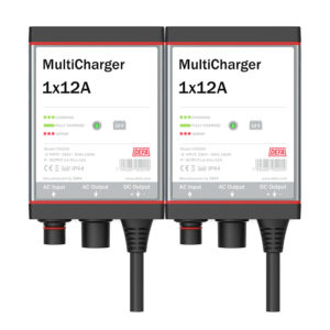 MultiCharger 2x12A batterilader
