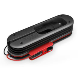 SmartCharge 10A battery charger, backside, laying