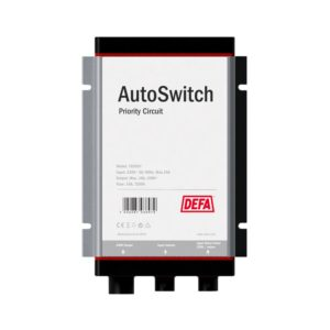 AutoSwitch priority circuit power distributer, front