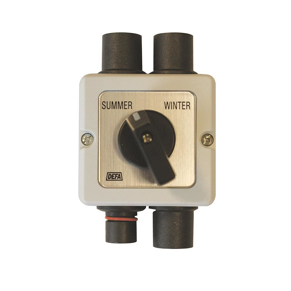Manual summer/winter switch for PlugIn, white background