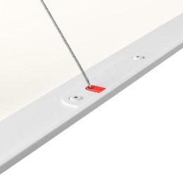 Ledge Suspended, upphängsdetalj, vit bakgrund