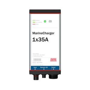 MarineCharger 1x35A batteriladdare, vit bakgrund