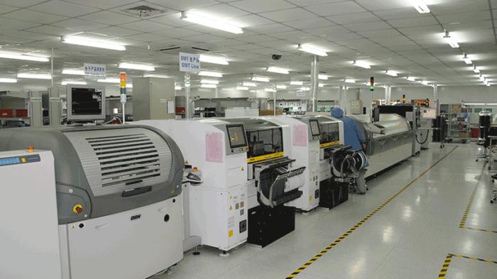 Bilde fra vår topp moderne fabrikk i Wuxi, Kina