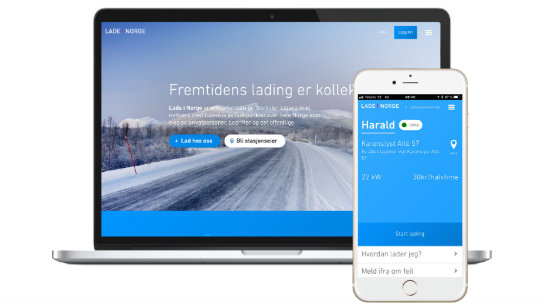 The Lade I Norge website and mobile app