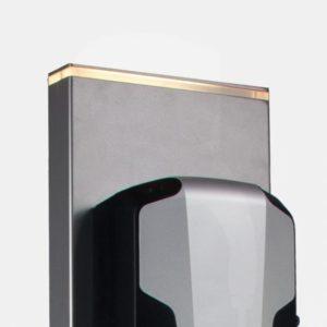 Utsnitt av Saltosøyle som viser lyslist