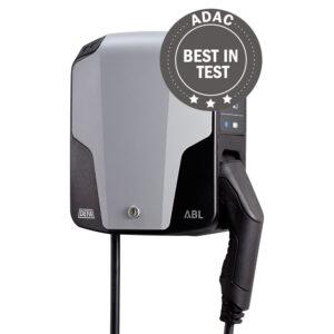 eRange Uno med fast kabel - beste ladestasjon i tester