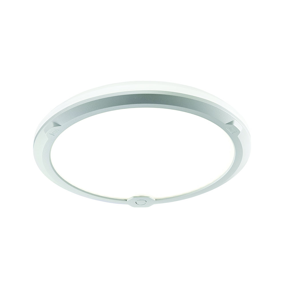 LedgeCircle D300, product picture ceiling mounted, white background