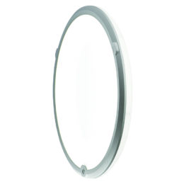 LedgeCircle D460 PIR, product picture wall mounted, white background