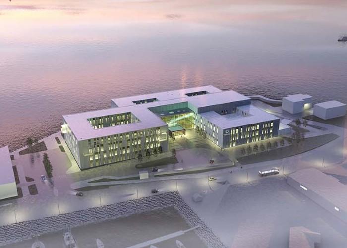 Hammerfest sykehus illustrasjon