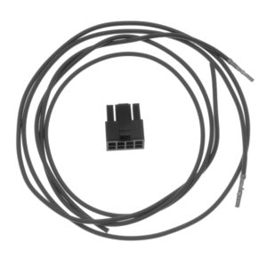 Accessory cable, coiled