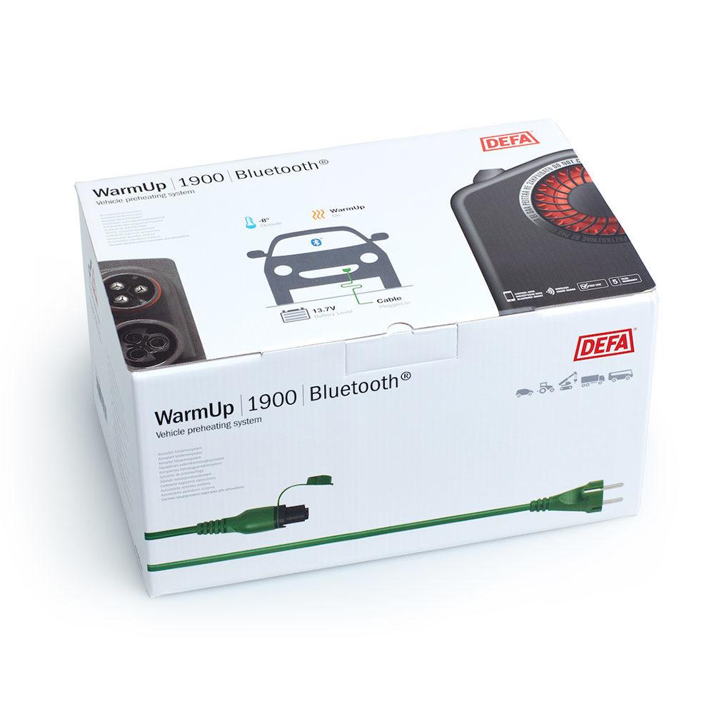 WarmUp 1900 Bluetooth i emballasje